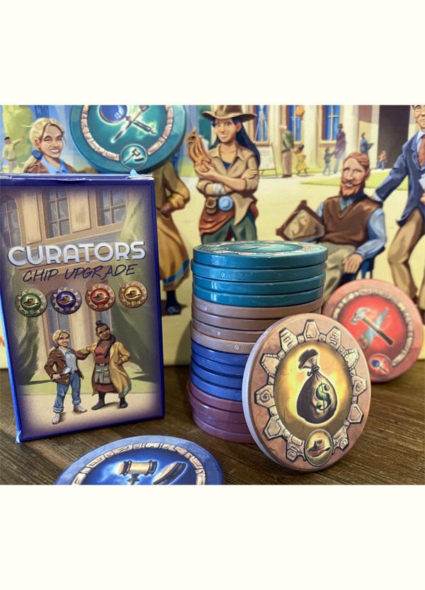 CURATORS  accessorio Gettoni in Ceramica